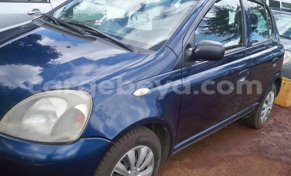 Buy Used Toyota Yaris Blue Car in Addis Ababa in Ethiopia