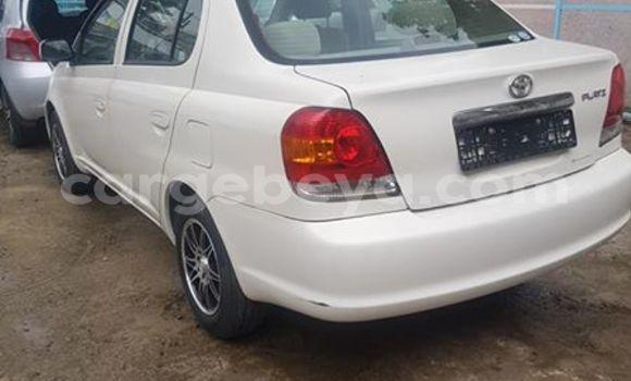 Buy Used Toyota Platz White Car in Addis–Ababa in Ethiopia