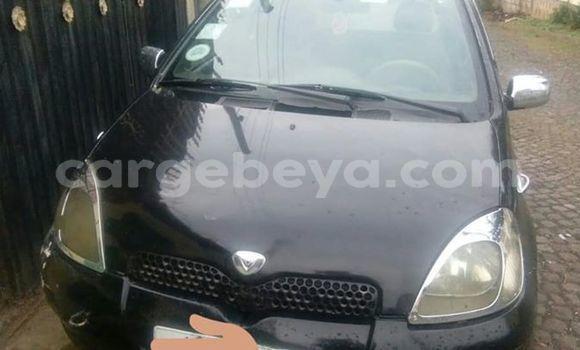 Buy Used Toyota Vitz Black Car in Addis–Ababa in Ethiopia