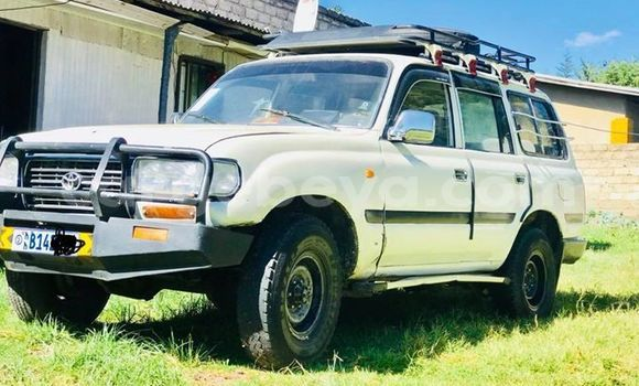 Buy Imported Toyota Land Cruiser White Car in Addis–Ababa in Ethiopia