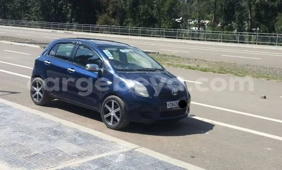 Buy Imported Toyota Yaris Blue Car in Addis–Ababa in Ethiopia