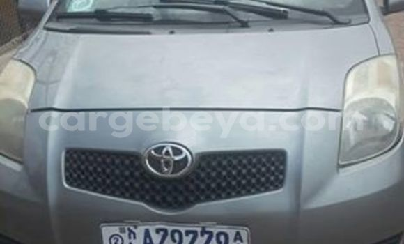 Buy Imported Toyota Yaris Silver Car in Addis–Ababa in Ethiopia