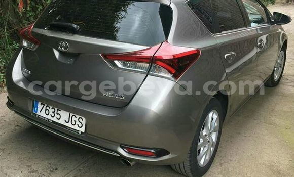 Buy Import Toyota Auris Silver Car in Addis–Ababa in Ethiopia