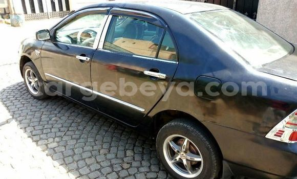 Buy Imported Toyota Corolla Black Car in Addis–Ababa in Ethiopia