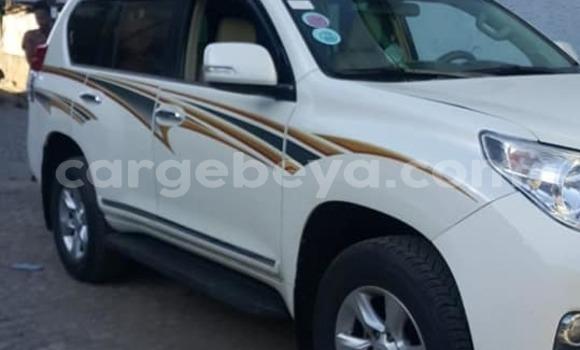 Acheter Occasion Voiture Toyota Land Cruiser Prado Blanc à Addis Ababa, Ethiopie