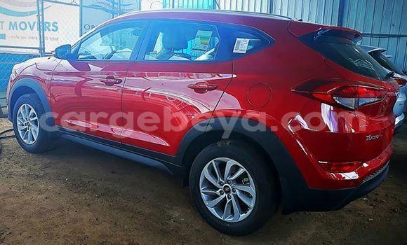 Buy Used Hyundai Tucson Red Car in Addis–Ababa in Ethiopia