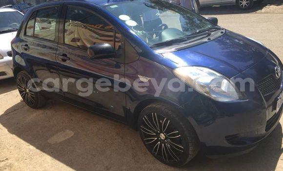 Buy Used Toyota Yaris Blue Car in Addis–Ababa in Ethiopia