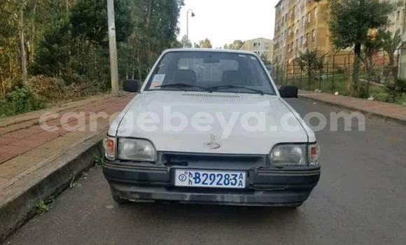 Buy Used Ford Escort Silver Car in Addis–Ababa in Ethiopia