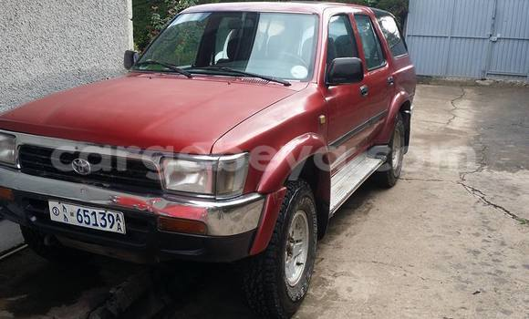 Buy Used Toyota Surf Black Car in Addis–Ababa in Ethiopia