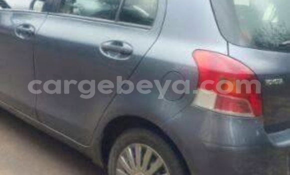 Buy Used Toyota Vitz Black Car in Addis–Ababa in Ethiopia