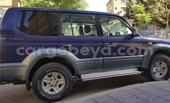 Buy Used Toyota Land Cruiser Prado Blue Car in Addis–Ababa in Ethiopia