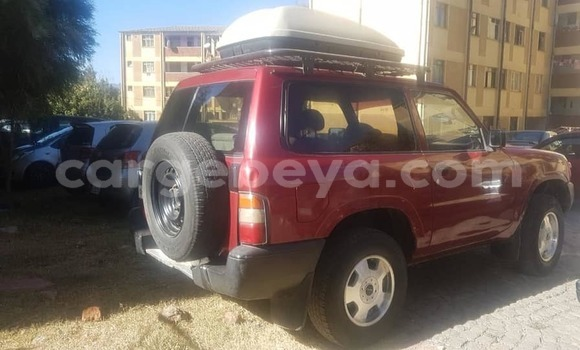 Buy Used Nissan Patrol Red Car in Addis–Ababa in Ethiopia