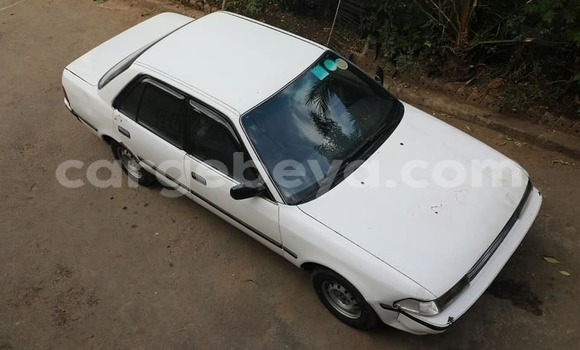 Buy Used Toyota Carina White Car in Addis–Ababa in Ethiopia