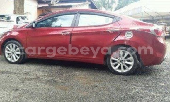 Buy Used Hyundai Elantra Red Car in Addis–Ababa in Ethiopia