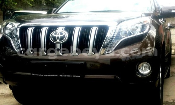 Buy Used Toyota Land Cruiser Prado Brown Car in Addis–Ababa in Ethiopia