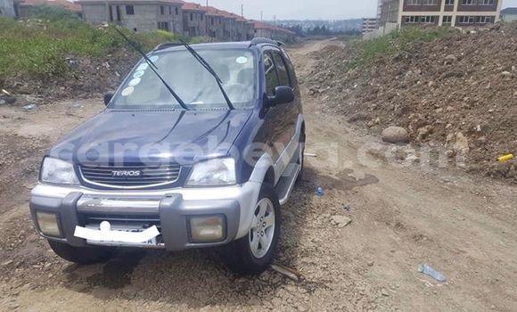 Buy Used Daihatsu Terios Blue Car in Addis–Ababa in Ethiopia