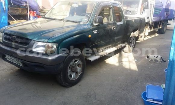 Buy Used Toyota Pickup Green Car in Addis–Ababa in Ethiopia