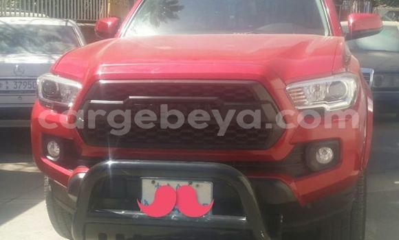 Buy Used Toyota Tacoma Red Car in Addis–Ababa in Ethiopia