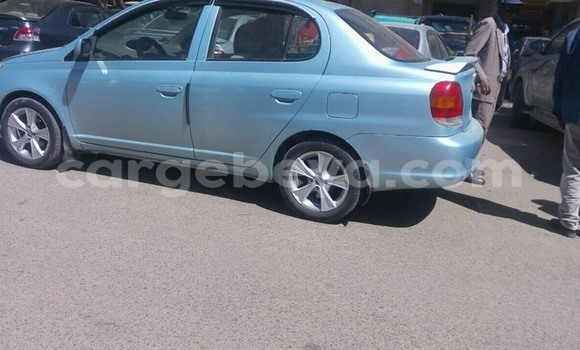 Buy Used Toyota Platz Blue Car in Addis–Ababa in Ethiopia