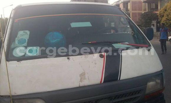 Buy Used Toyota Hiace White Car in Debre Zeyit in Oromia