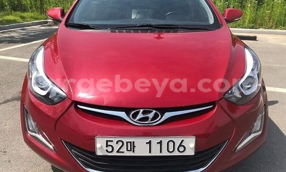 Buy Used Hyundai Avante Red Car in Addis–Ababa in Ethiopia