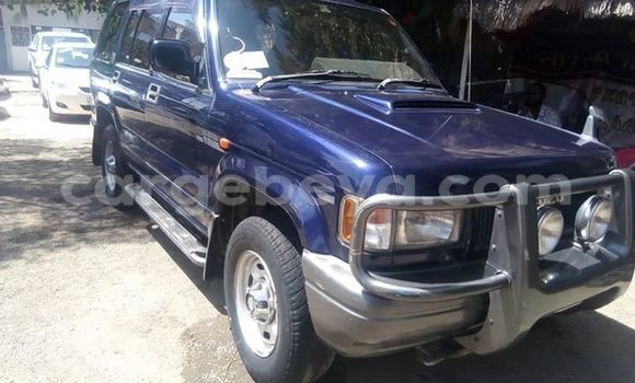 Buy Used Isuzu Trooper Blue Car in Addis–Ababa in Ethiopia