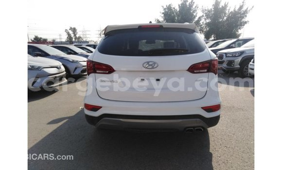 Buy Imported Hyundai Santa Fe White Car in Addis–Ababa in Ethiopia