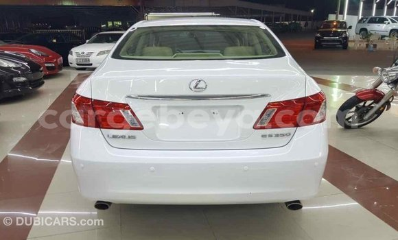Buy Imported Lexus ES White Car in Addis–Ababa in Ethiopia