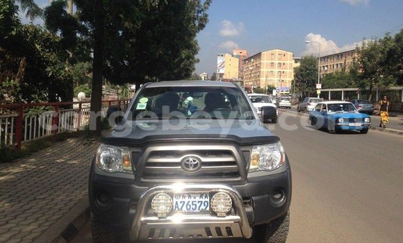 Buy Used Toyota Tacoma Black Car in Addis–Ababa in Ethiopia