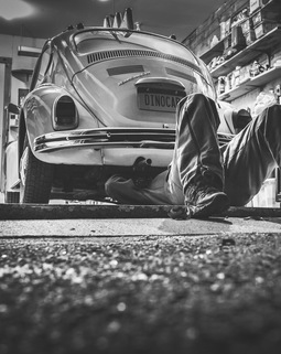 Thumb black and white car vehicle vintage
