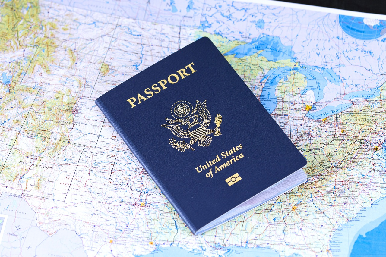 Passport identification flag usa travel visa 2642170